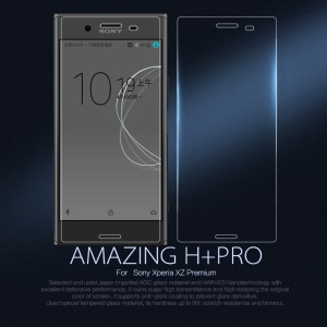 NILLKIN Amazing H+PRO Tempered Glass Screen Protector Anti-Explosion for Sony Xperia XZ Premium