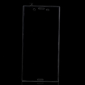 Full Coverage Arc Edge Tempered Glass Screen Protector for Sony Xperia XZ / XZs - Transparent