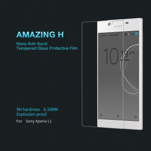 NILLKIN Amazing H Tempered Glass Screen Protector Anti-Explosion for Sony Xperia L1