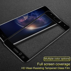 IMAK HD Full Coverage Tempered Glass Screen Protector Film for Huawei Honor 9 - Black