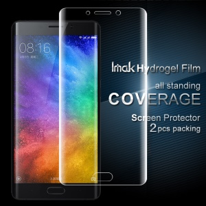 IMAK 2Pcs Full Screen Complete Covering Soft Hydrogel Protector Film for Xiaomi Mi Note 2
