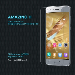 NILLKIN Amazing h Tempered Glass Screen Protector Anti-Explosion für Huawei Ehre 9