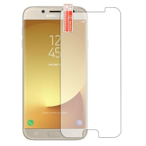 2.5D Arc Edge Tempered Glass Screen Protector Film for Samsung Galaxy J7 Pro