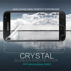 NILLKIN Für Samsung Galaxy J3 (2017) EU-Version Anti-Fingerabdruck HD Klar LCD-Displayschutzfolie Mobilen Film