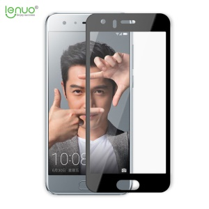 LENUO for Huawei Honor 9 CF HD Clear Full Screen Tempered Glass Film with 2.5D Arc Edge - Black