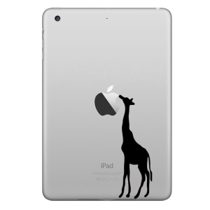 HAT PRINCE Creative Decal Sticker for iPad Air 2 / iPad mini 4 (Small Size) - Giraffe Pattern