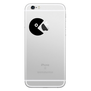 HAT PRINCE Removable Decal Sticker for iPhone 6s Plus/6s/5s/5 (Small Size) - Nibbling