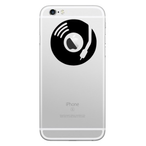 HAT PRINCE Decorative Sticker for iPhone 6 Plus/6/5s/5 (Medium Size) - Phonograph CD