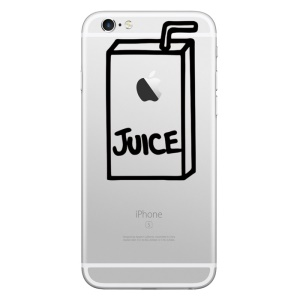 HAT PRINCE Creative Decal Sticker for iPhone 6 Plus/6/5s/5 (Medium Size) - Juice Drink
