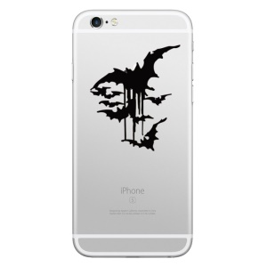 HAT PRINCE Decorative Decal Sticker for iPhone 6s/6/5s/5 (Big Size) - Bats