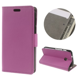Flip Leather Wallet Stand Phone Case for Vodafone Smart mini 7 - Rose