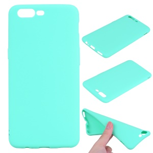 Matte Anti-fingerprint TPU Phone Cover Case for OnePlus 5 - Cyan