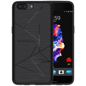 NILLKIN Magic Case for OnePlus 5 Soft TPU Wireless Charging Receiver TPU Back Case