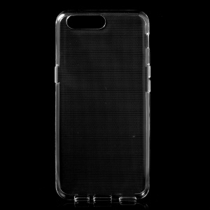 For OnePlus 5 Clear Soft TPU Case Cover with Non-slip Inner - Transparent