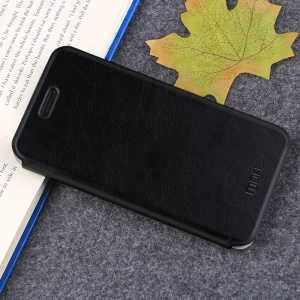 MOFI Rui Series Leather Stand Case for OnePlus 5T - Black