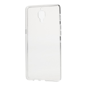 Transparent Glossy Anti-watermark TPU Phone Case for OnePlus 3 / 3T