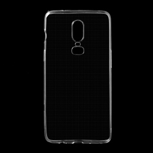 Transparent - Ultra-thin Clear Soft TPU Back Case Protector for OnePlus 6