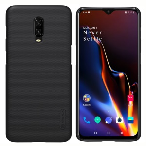 NILLKIN Super Frosted Shield Hard PC Case for OnePlus 6T - Black