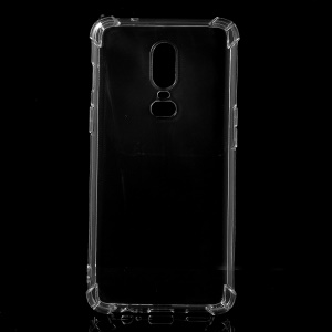Shock Absorption Clear TPU Mobile Phone Case for OnePlus 6