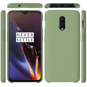 Liquid Silicone Cellphone Shell for OnePlus 6T - Green