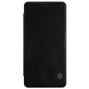 NILLKIN Qin Series for OnePlus 3 / 3T Card Holder Leather Case - Black