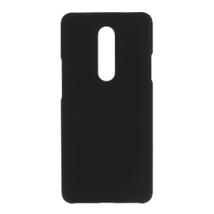 Rubberized PC Mobile Phone Case Accessory for OnePlus 7 Pro - Black