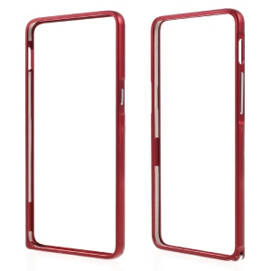 Hippocampal Buckle Metal Bumper Frame for OnePlus 3 - Red