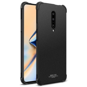 IMAK Airbag Shockproof Soft TPU Phone Case for OnePlus 7 Pro - Matte Black