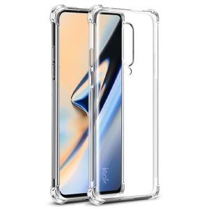 IMAK Airbag Shockproof Soft TPU Phone Case for OnePlus 7 Pro - Transparent
