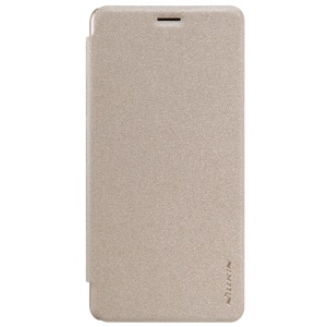 NILLKIN Sparkle Series Smart Leather Phone Cover for OnePlus 3 / 3T  - Gold
