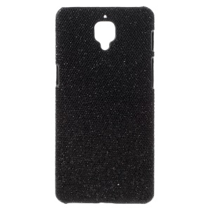 Glitter Sequins Hard Case Protector for OnePlus 3T / 3 - Black