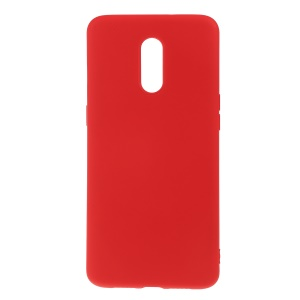 Soft Liquid Silicone Protective Phone Cover Casing for OnePlus 7 - Red