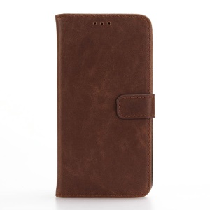 Retro Style Stand Leather Shell Cover for OnePlus 3T / 3 - Coffee