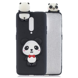 3D Cartoon Animal Printing TPU Phone Case for OnePlus 7 Pro - Handsome Panda