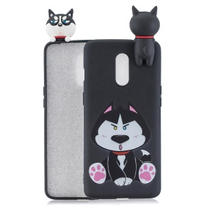 3D Animal Pattern Printing TPU Phone Case for OnePlus 7 - Dog