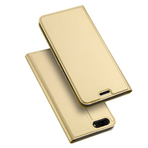 DUX DUCIS Skin Pro Series for OnePlus 5 Business Leather Phone Casing with Card Slot - Gold