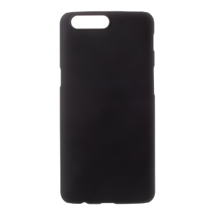 Rubberized PC Hard Shell for OnePlus 5 - Black