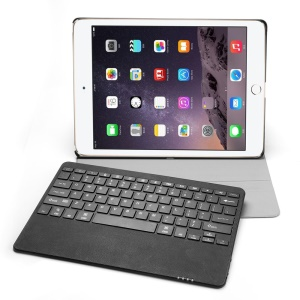 SEENDA for iPad Pro 2-in-1 Detachable Bluetooth Keyboard Leather Case with Stand