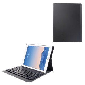 Detachable Bluetooth Keyboard Leather Stand Case for iPad 4 / 3 / 2 - Black