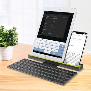ROCK R4 Rollbare Multifunktions-Bluetooth-Tastatur Für IOS, Android, Windows-Geräte Etc