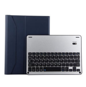 Detachable Bluetooth Keyboard Leather Protection Shell for iPad Pro 11-inch (2018) - Dark Blue