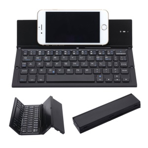 Portable Foldable Wireless Bluetooth 3.0 Keypad with Stand for Windows / iOS / Android Tablet and Smartphone