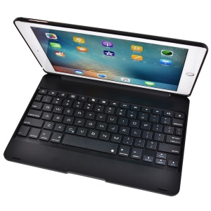 F19 Wireless Bluetooth Keyboard Protection Case for iPad Pro 9.7/Air 2 - Black