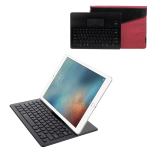 2088 Bluetooth 3.0 Keyboard + Tablet PC Pouch Case Kit with LED Indicator - Black / Red