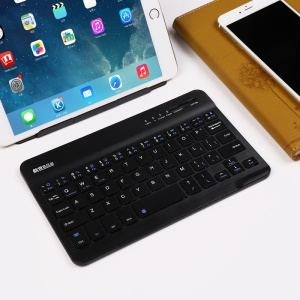 BOW 7.9 polegadas Mini Wireless Bluetooth 3.0 Teclado para Windows / Android / iOS - Preto