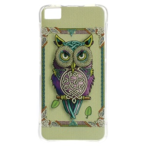 Air Cushion TPU Protective Cover for BQ Aquaris M4.5 - Cool Owl