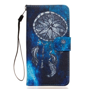 Wallet Stand Leather Flip Case for Wiko Rainbow Jam 4G - Dream Catcher
