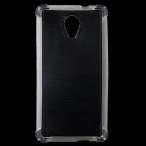 Clear Glossy Impact-resisting TPU Phone Case for Wiko Robby/S-KOOL- Transparent