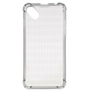 Thick Corners Impact-resistant TPU Gel Case for Wiko Sunny / B-Kool - Grey