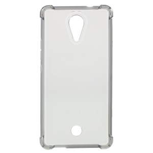 Drop-proof TPU Gel Case Cover for Wiko Tommy - Grey